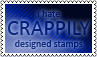 Crappily designed stamps by black-cat16-stamps