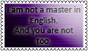 Master in English 1 by black-cat16-stamps