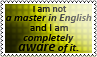 Master in English 2 by black-cat16-stamps