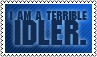 Idler by black-cat16-stamps
