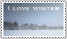 I love winter by black-cat16-stamps