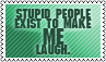 Stupid people by black-cat16-stamps