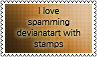 Spamming by black-cat16-stamps