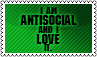 Antisocial by black-cat16-stamps