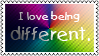 Being different by black-cat16-stamps