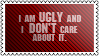 Ugliness by black-cat16-stamps