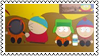 Cartman hits Kenny by black-cat16-stamps