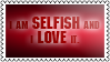 Selfish by black-cat16-stamps