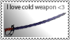 Cold weapon by black-cat16-stamps