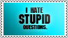 Stupid questions by black-cat16-stamps