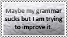 My grammar by black-cat16-stamps