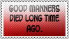 Good manners by black-cat16-stamps