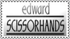 Edward Scissorhands by black-cat16-stamps