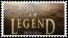 I am legend by black-cat16-stamps