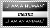 Human animals by black-cat16-stamps