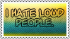 I hate loud people by black-cat16-stamps