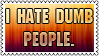 Dumb people by black-cat16-stamps