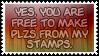 Plz by black-cat16-stamps
