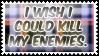 My enemies by black-cat16-stamps