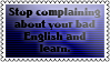 Stop complaining... by black-cat16-stamps