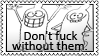 To all irresponsible people by black-cat16-stamps