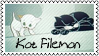 Kot Filemon by black-cat16-stamps