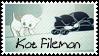 Kot Filemon by black-cat16-stamps