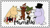 Muminki by black-cat16-stamps