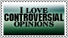 Controversial opinions by black-cat16-stamps