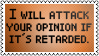 Retarded opinion by black-cat16-stamps