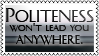 Politeness by black-cat16-stamps