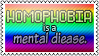 Homophobia is a... by black-cat16-stamps