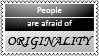 Originality by black-cat16-stamps