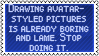 ,,Avatarization' by black-cat16-stamps