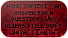 Homo sapiens and aliens by black-cat16-stamps