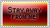 Stay away by black-cat16-stamps