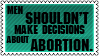 Abortion by black-cat16-stamps