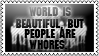 World is beautiful by black-cat16-stamps
