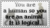 People are animals by black-cat16-stamps