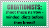 Creationists by black-cat16-stamps