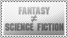Fantasy and science-fiction by black-cat16-stamps