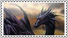 Dragon by black-cat16-stamps