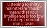 Mainstream 'music' by black-cat16-stamps