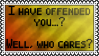 Offended? by black-cat16-stamps