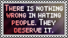 Hating people by black-cat16-stamps