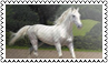 Horse colours: white by black-cat16-stamps