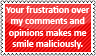 Your frustration by black-cat16-stamps