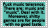 Music and music by black-cat16-stamps