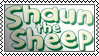 Lame cartoons: 4. Shaun the sheep by black-cat16-stamps