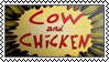 Lame cartoons: 16. Cow and chicken by black-cat16-stamps